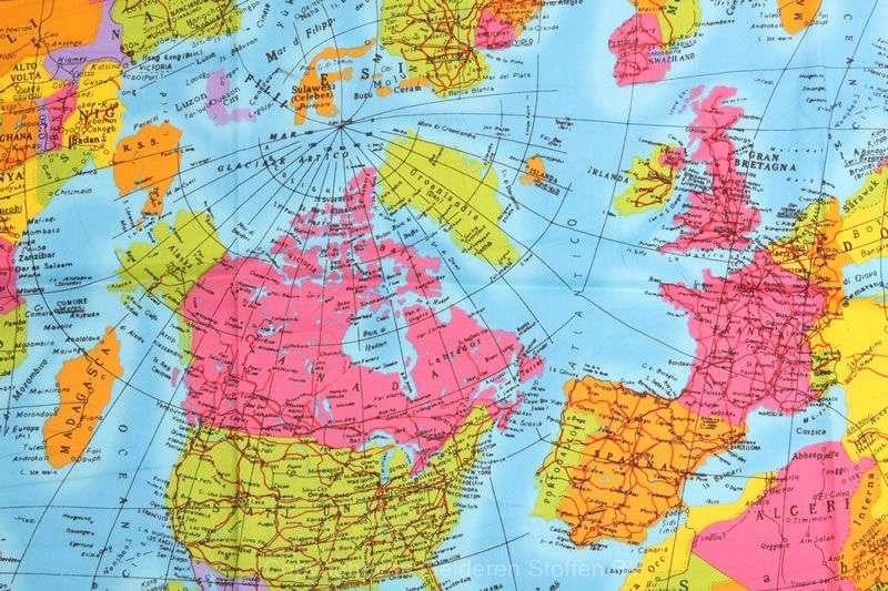 wereldkaarta